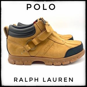 Ralph Lauren Polo Suede Boots 11D
